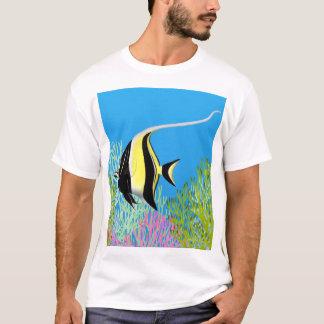 Colorful Moorish Idol Reef Fish T-Shirt
