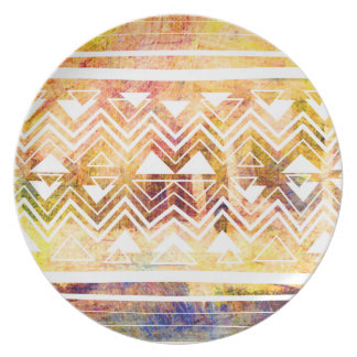 Colorful Moroccan Party Plate