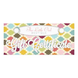 Colorful Moroccan Quatrefoil - Gift Certificate