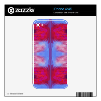 Colorful Mosaic Abstract iPhone 4S Skins