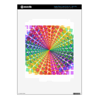 Colorful mosaic decals for iPad 3