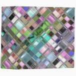 Colorful Mosaic Glass Art Vinyl Binder