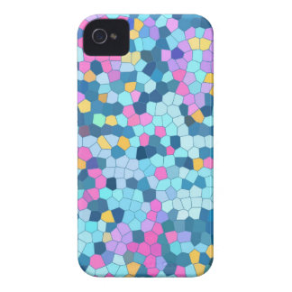 Colorful Mosaic iPhone 4/4S case