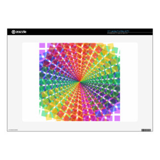 Colorful mosaic laptop decal