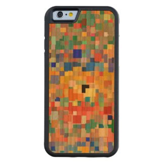 Colorful Mosaic Pattern #2 Carved® Cherry iPhone 6 Bumper Case