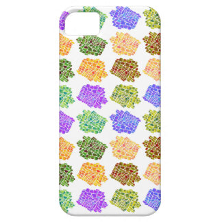 Colorful mosaic patterns iPhone SE/5/5s case