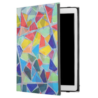 Colorful Mosaic Random Pattern iPad Pro Case