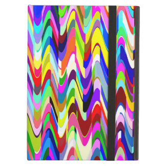 Colorful Mosaic Wave Pattern #11 Cover For iPad Air