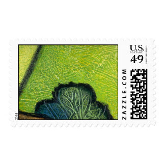 Colorful Mossy Twig Stamp