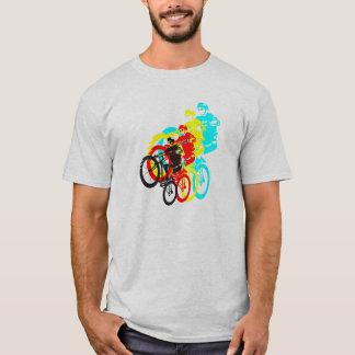 Colorful Mountain bike trials T-Shirt