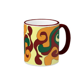 colorful mug by DSM