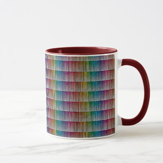 Colorful Mug You pick accents and styles