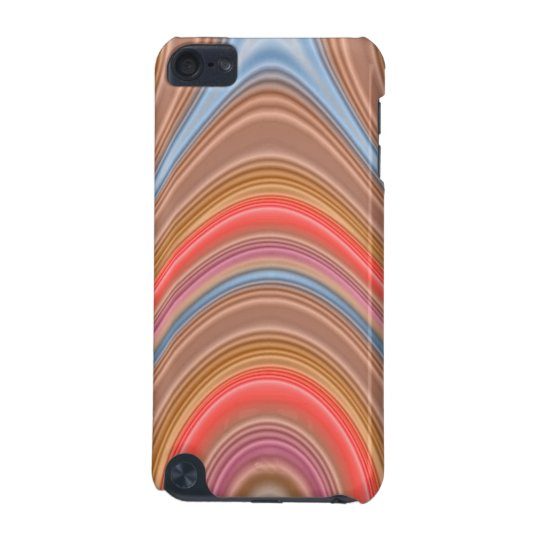 Colorful multi-line pattern iPod touch (5th generation) case