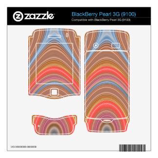 Colorful Multi-line pattern BlackBerry Skin