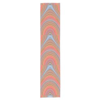 Colorful Multi-line pattern Short Table Runner