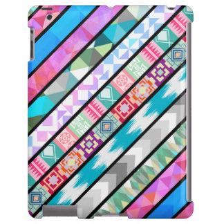 Colorful Multi Pattern iPad Case