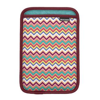 Colorful Multicolor Chevron Pattern Sleeve For iPad Mini