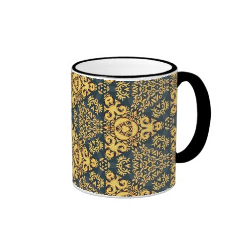 Colorful multicolor repeat patterns coffee mug