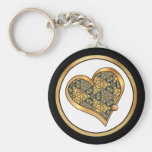 Colorful multicolor repeat patterns key chain