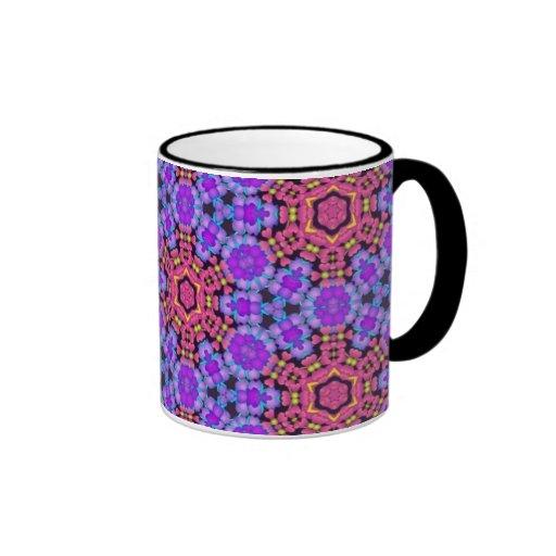 Colorful multicolor repeat patterns mugs