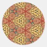 Colorful multicolor repeat patterns sticker