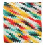 Colorful Multicolored Pattern Bandana