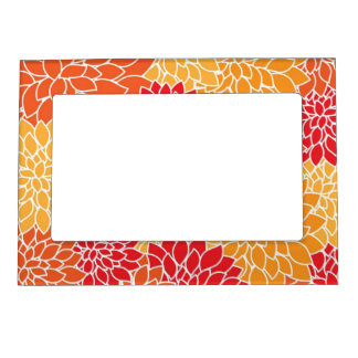 Colorful Mum magnetic frame