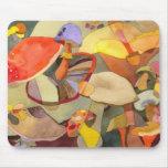 Colorful Mushrooms Mousepad