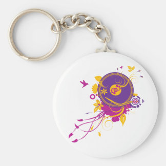Colorful Music Keychain