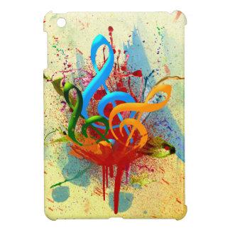 Colorful Music Notes iPad Mini Cases