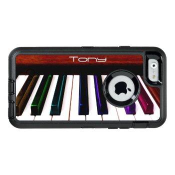 Colorful Music Piano Keys Otterbox Iphone Case by UROCKDezineZone at Zazzle