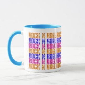 Colorful Music Rock n Roll Coffee Tea Drink Mug