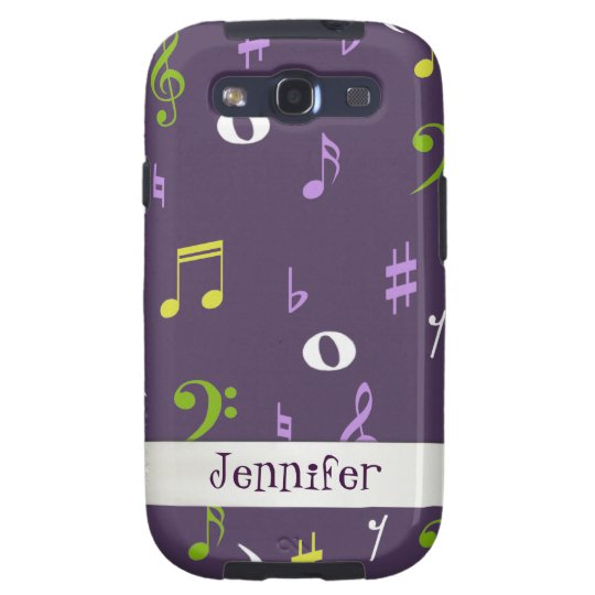 Colorful Music Samsung Galaxy S3 Phone Case