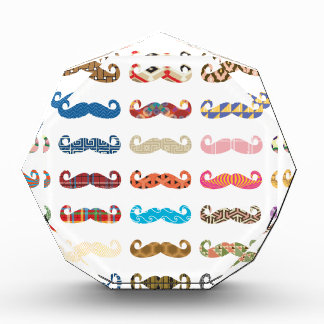 Colorful Mustaches Award