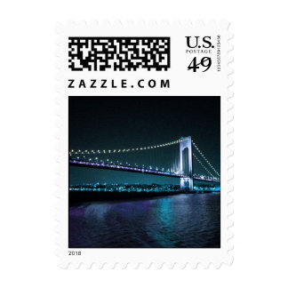Colorful Narrows stamp