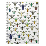 Colorful Native Bees Note Books