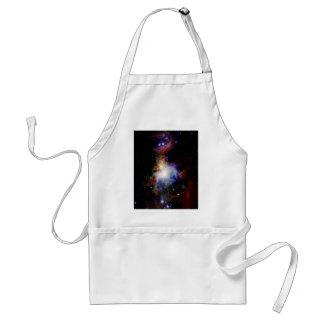 Colorful Nebula Adult Apron