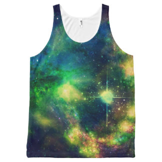 Colorful Nebula All Over Print Tank All-Over Print Tank Top