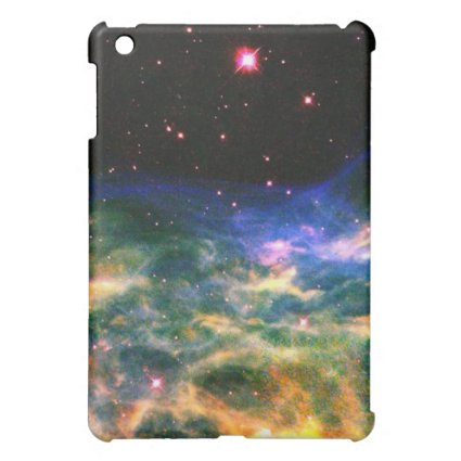 Colorful Nebula and Stars iPad case