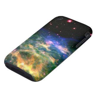 Colorful Nebula and Stars iPhone 3 case
