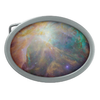 Colorful Nebula Belt Buckle