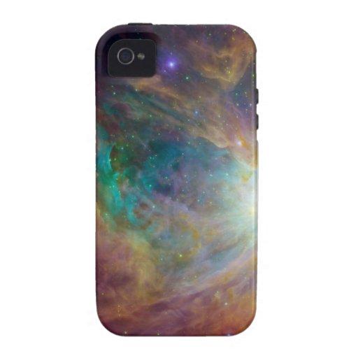 Colorful Nebula iPhone 4 case