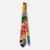 colorful neck tie