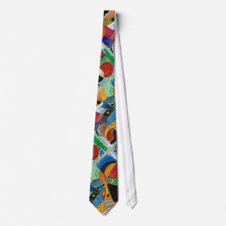 """Colorful Necktie with """"iCandy"""" Art by P.Diaz"""