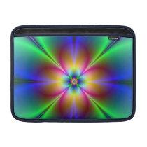 Colorful Neon Daisy MacBook Air Sleeve
