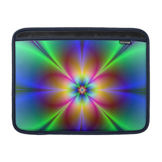 Colorful Neon Daisy MacBook Air Sleeve