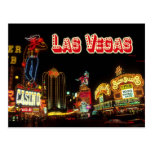 Colorful Neon Signs, Las Vegas, Nevada Postcard