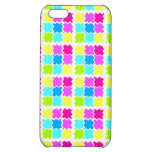Colorful Neon Tiles Pattern Cover For iPhone 5C