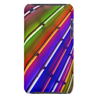 Colorful neon tubes at shop entrance Case-Mate iPod touch case