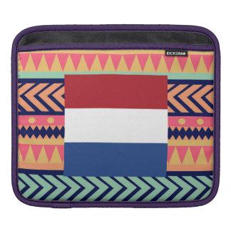 Colorful Netherlands Flag Box iPad Sleeve